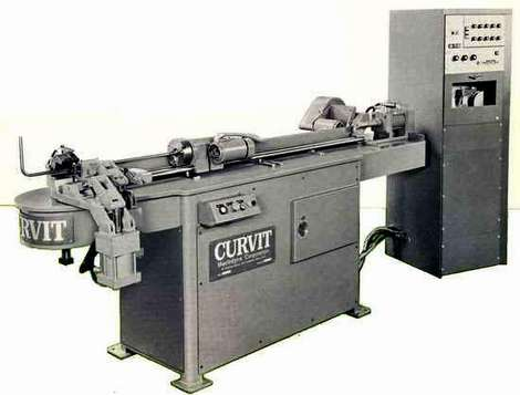 NC Controlled Curvit Tube Bender (1968)