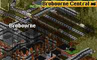 Brubourne station, new situation