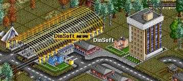 New Dinsoft Rrailroad Station