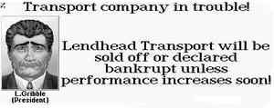 Lendhead Transport in financial problems